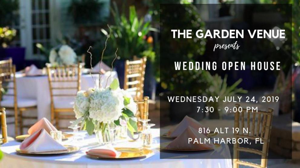 Wedding Venue Open House Earthscapes Garden Room