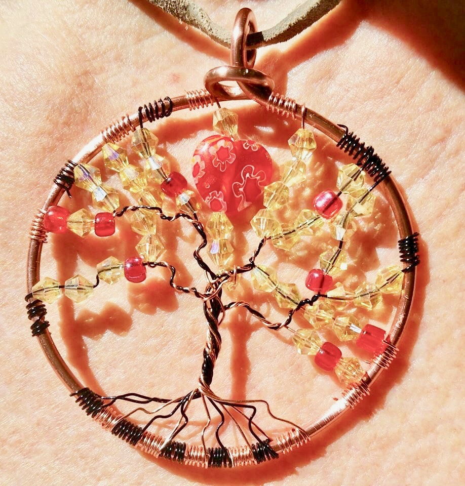 Diy Tree Of Life Pendant Class Earthscapes Garden Room